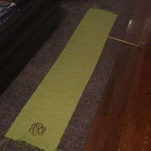 Scarf green cashmere Germany